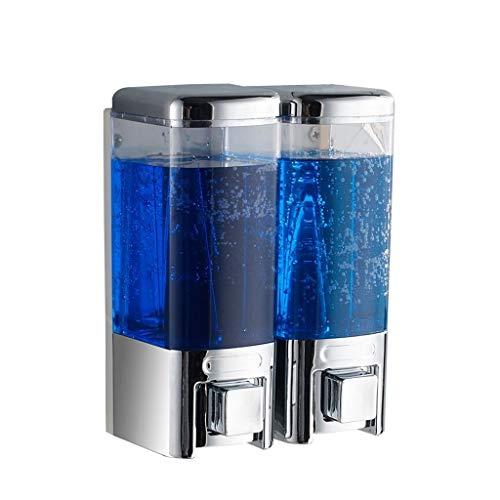 Tingting1992 Dispensador de jabón para baño Dispensador Manual del jabón del Hotel de la Botella del desinfectante de la Mano del hogar montado en la Pared Dispensador de jabón de Cocina