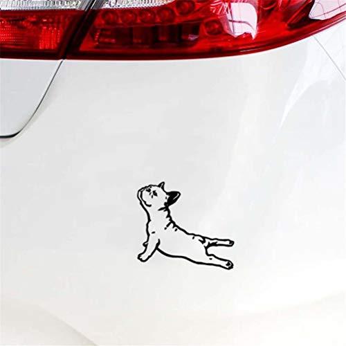 coche pegatina Pegatinas France Bulldog Body Pegatinas y calcomanías para autos...
