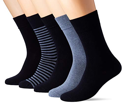 Schiesser Herren Multipack Herrensocken (5PACK) Socken, Mehrfarbig (Sortiert 1 901), 39/42 (Herstellergröße: 403) (5er Pack)