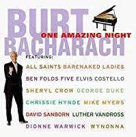 One Amazing Night by Burt Bacharach (1998-11-17)
