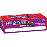 Each squaredelivers just the right amount of nutty brownie goodnesstopped with caramel and nuts – all covered in chocolate for a whole new combination of taste and texture that's unmistakably SNICKERS. Enjoy everyones favorite MARS WRIGLEY CANDY Co...