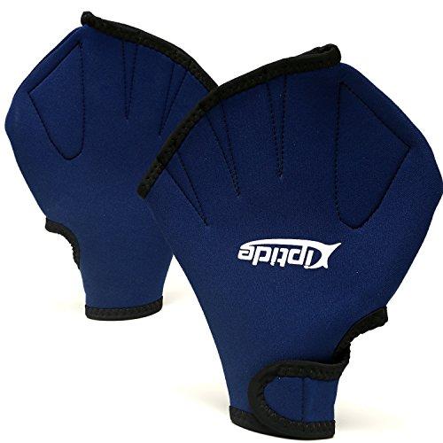 riptide Schwimmhandschuhe - Swimpaddles für das Training im Wasser | Universalgröße für Frauen und Männer geeignet | für Wassergymnastik, Schwimmen, Aqua Zumb