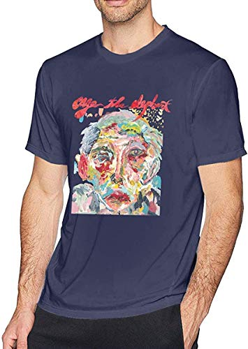 T-FASHION Cage The Elephant Melophobia Men Camiseta New Impression Vogue