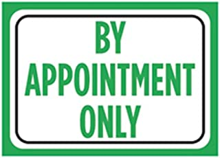 Best by appointment only sign Reviews