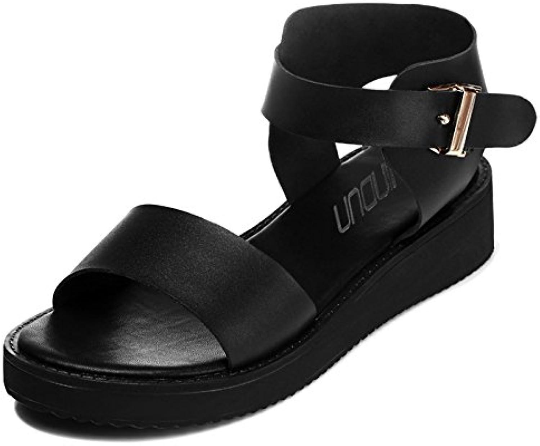 RUGAI-UE Fashion Schuhe, Sandalen, Sommer Mädchen, Studenten, Mode, große Sandalen.  | New Product 2019  | Bestellungen Sind Willkommen