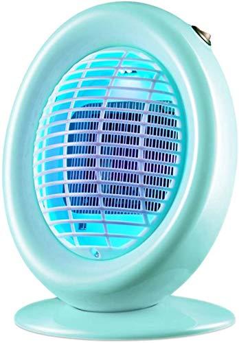 XXCZB Mosquito Lamp XXCZBMosquito Killer Dormitorio del hogar Repelente de Mosquitos Bajo Ruido Luz Suave Luz eléctrica Gris Verde (200X160X290mm) (Color: Gris2)-Verde