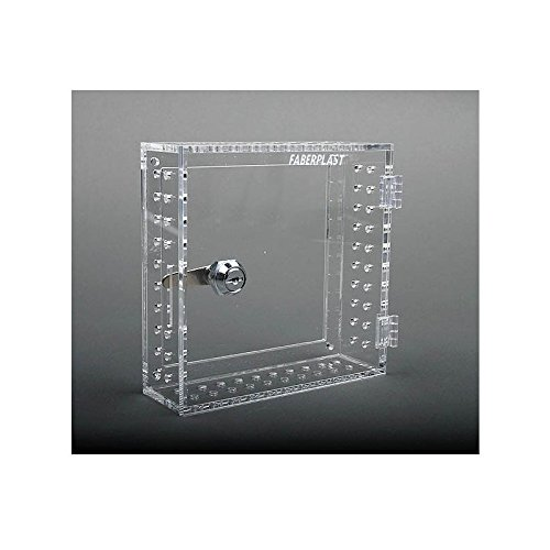 Faberplast Caja Seguridad Termostatos, Metacrilato, 17.5x17.5x6 cm