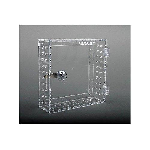 Faberplast Caja Seguridad Termostatos, Metacrilato, 8.5x8.5x3.5 cm