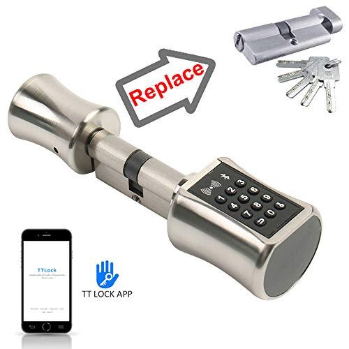 DIY Vervanging van Smart deursloten, Cilinder Ondersteunt Mobile Phone APP TT Lock Bluetooth 13.56Mhz IC Card Digital Unlock