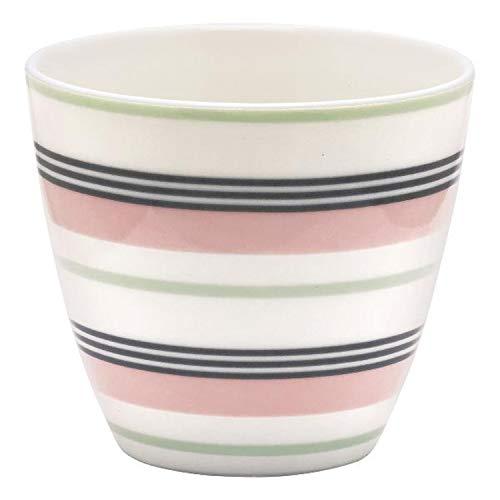 Latte Cup - Becher Leoma Peach von GreenGate Porzellan