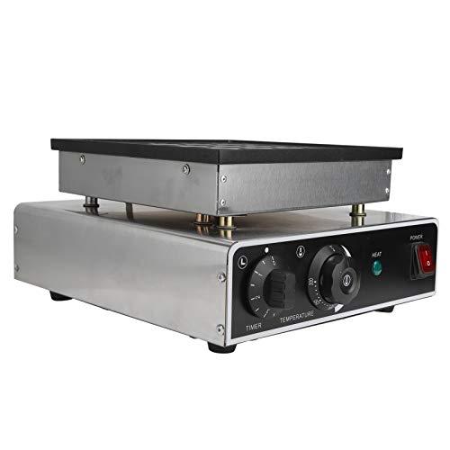 01 Máquina de panqueques Máquina de gofres, Herramientas de Cocina Interfaz de operación Simple y Clara Mini(European Standard 220V)