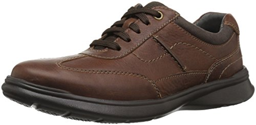 Clarks Men's Cotrell Style Sneaker, Tobacco Leather, 15 M US