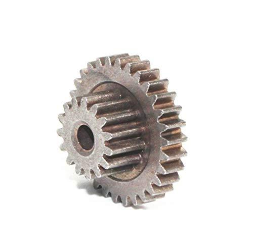 AGiao Components Getriebemotor 0,5M Doppelzahnrad Metallzahnrad JGY-370 Motor 37 Getriebe Getriebe Gear (Number of Teeth : 0.5M30T 0.515T 6.5H)