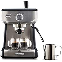 Calphalon BVCLECMP1 Temp iQ Stainless Steel Espresso Machine with Steam Wand