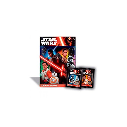 Devir 599386031 - Star Wars: álbum cromos Star Wars Episodio VII