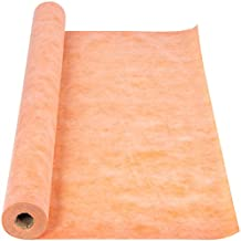 Happybuy Waterproof Membrane for Showers 3.3x91.9ft Waterproofing Membrane 10mil Thickness Tile Membrane for Sauna Bathroom Walls 303 sqft Fleece Use Thin-Set Mortar Polyethylene Fabric Membrane Roll