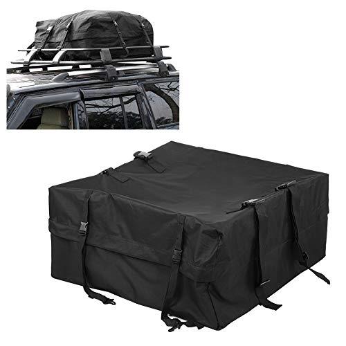 GOTOTOP Wasserdichte Dachtasche für Auto Van Fahrzeug Reise Touring Cargo Pack Bag Aufbewahrungsbox Gepäckträger Gepäckträger Reisetasche Reisetasche 85 x 85 x 40 cm