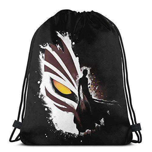 WH-CLA Drawstring Bags Anime Eren Attack On Titan Travel Men Favor Bags Gym Cinch Bags Deporte Al Aire Libre Mochila con Cordón Mochila con Cordón Durable Mujeres Únicas Almacenamiento G