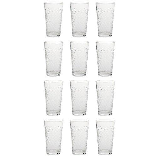 Rastal 122252 Apfelweinbecher, Apfelweinglas, 250ml, H 12,5cm, klar (12 Stück)