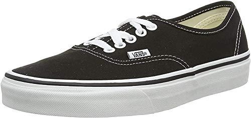 Vans Unisex UA Authentic Sneaker, Black BLK, 38.5 EU