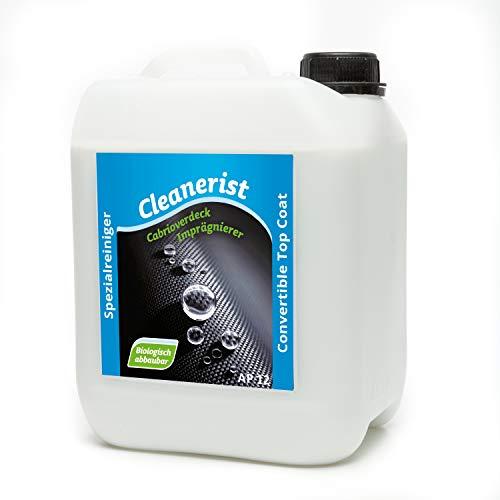 Cleanerist 5 Liter Cabrioverdeck Imprägnierung AP12 Imprägnierer Pflege Cabriodach für Verdecke aus Stoff, Leder, Kunstleder und Kunststoff