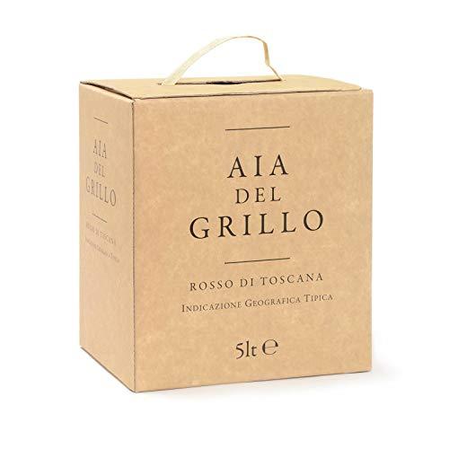 AIA DEL GRILLO I.G.T. - Bag in Box - Vino Rosso - Confezione da 5l