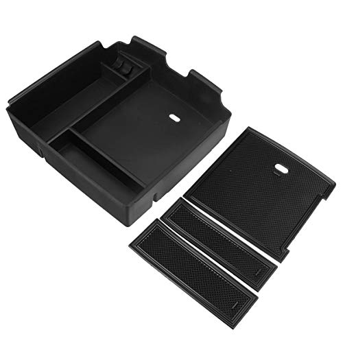 RelaxToday Car Central Armrest Storage Box for Kia Carnival 2021 Center Console Storage Box Car Interior Tidying Accessories