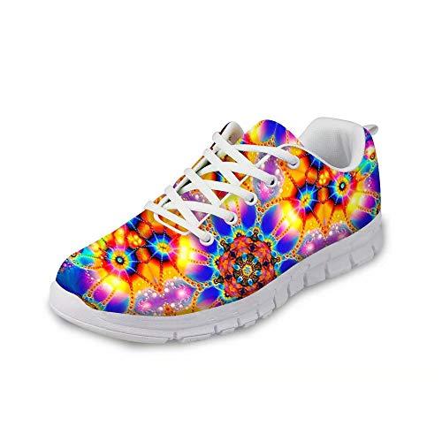 MODEGA schillernde Schuhturnschuhe Bunte Schuhe für Männer für Männer Schuhe Sportschuhe Frauen Plus Größe Bowling-Schuhe für Männer Schuhe Herrenmode Tennisschuhe fischen Größe 40 EU|6 UK
