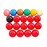 TX GIRL 2 unids/Lote 5.25cm Bolas de Snooker Pequeño Snooker Ball Ball Balls Balls Balls Pool Balls Set (Color : Black)