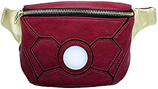 Loungefly x Marvel Iron Man Waist Bag (One Size, Red Multi)
