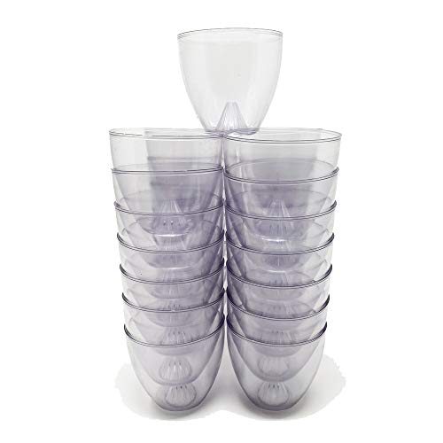 FA Dumont Clear Plastic Candle Drip and Wind Protectors - Box of 100