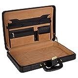 LV | Bolso de cuero sintético de diseño para hombres | Compartimiento para portátil de 15.6 pulgadas | Características ampliables | | Bloqueo de número combinado de alta seguridad | 18 litros | Color