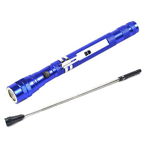 Aimado Torcia elettrica da Campeggio Portatile telescopica Flessibile a 3 LED Magnetica Torce