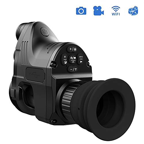 New MBEN Night Vision monocular, 1080P HD Infrared Camera, Sight WiFi Connection, 4-14 Times Magnifi...