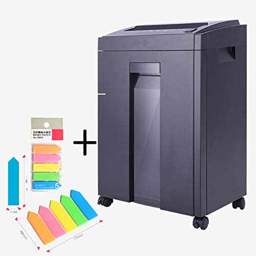 Best Bargain XXLHH 8-Sheet Cross-Cut Paper/CD/Credit Card Shredder with 23L Pullout Basket and 4 Cas...