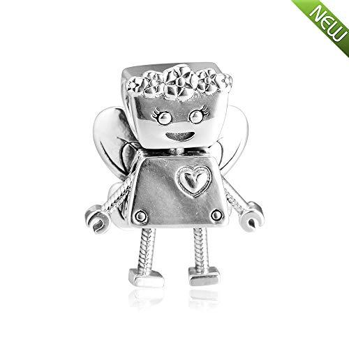 PANDOCCI 2019 Primavera Edizione Limitata Floreale Bella Bot Bead 925 Argento Fai da Te Adatto per Originale Pandora bracciali Gioielli Moda di Fascino