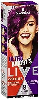 Live Colour Live Colour Ultra Brights Semi-Permanent Hair Colour, Magnetic Purple