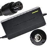 joyvio Adaptador de Cargador de batería de 42 V 2 A para Scooter aerotabla de Equilibrio automático