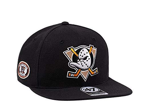 '47 Anaheim Ducks Jersey Patch Edition Captain Snapback Cap - NHL Kappe