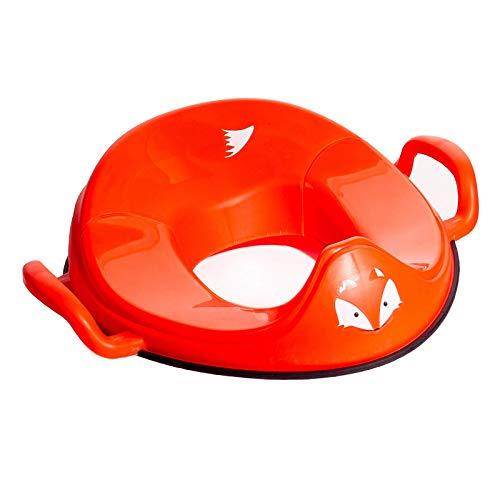 My Little Trainer Seat - Zorro Asiento Reductor de Inodoro Infantil de Aprendizaje - Entrenamiento de WC para niños pequeños - bebés