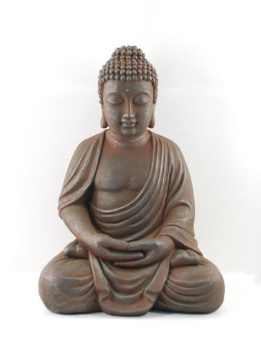 Signes Grimalt–Figura Resina Buda Sentado 48cm 58876sg