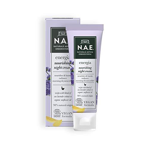 N.A.E. Crema Nutriente Notte Energia, Crema Viso con Estratto di...