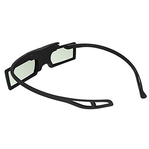 Andoer® G15-DLP Gafas de Obturador Activo 3D 96-144Hz para Proyector LG/BENQ/Acer/Sharp/Panasonic DLP Link 3D