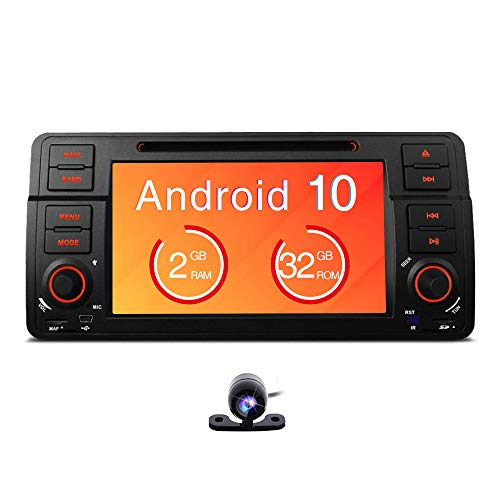 Freeauto Para BMW E46/320/325 Quad Core 7 'Android 8.1 Estéreo Pantalla multitáctil Radio CD Reproductor de DVD GPS Pantalla de video Duplicación OBD2 Wifi CANbus