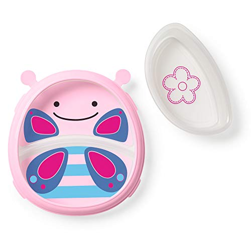 Skip Hop Zoo Smart Serve Plate and Bowl - Butterfly