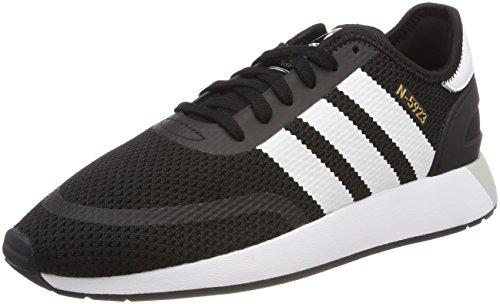 adidas Herren N-5923 Fitnessschuhe, Schwarz (Negbás/Ftwbla/Griuno 000), 44 2/3 EU