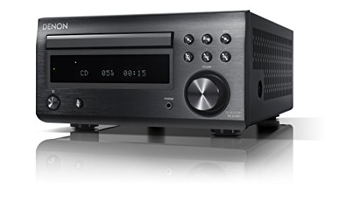 デノン Denon RCD-M41 ワイドFM AM/FMラジオチューナー ディスクリートアンプ搭載 Bluetooth®対応 CDレシーバー ブラック RCD-M41K
