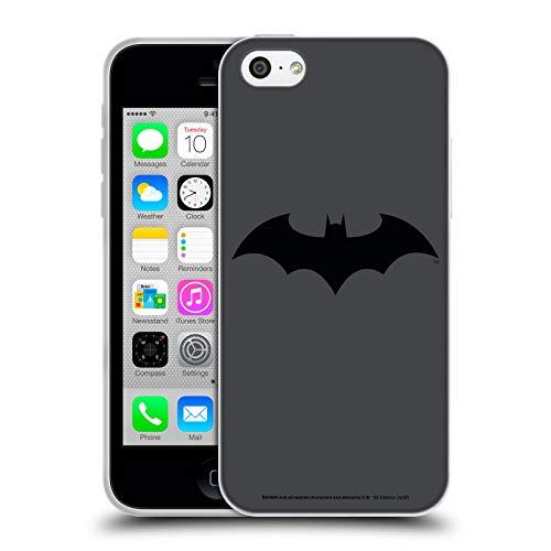 Head Case Designs Officiel Batman DC Comics Hush Logos Coque en Gel Doux Compatible avec iPhone 5c