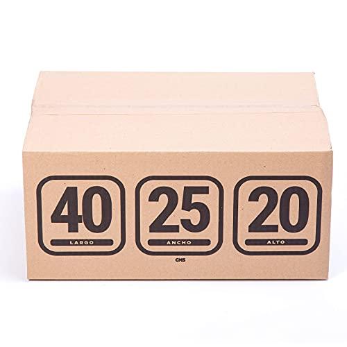 TeleCajas |Cajas para Vasos y Tazas | 40x25x20 cms - 10 unidades