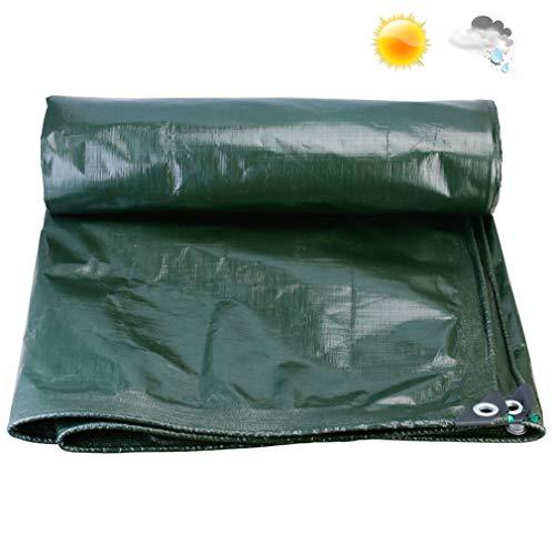 Heavy Duty waterdicht dekzeil, dekzeil camping, scheurbestendig uv-bestendig dekzeil zwaar met grommets en versterkte randen PVC outdoor Tarp waterdicht balkon regenbestendig